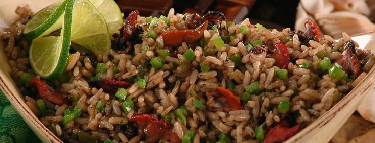 arroz con concha