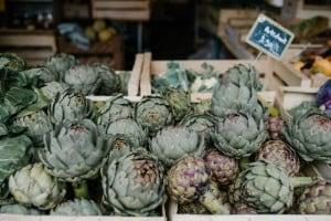 receta de alcachofas al microondas