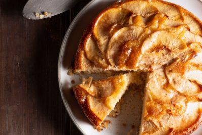 deliciosa torta de manzana